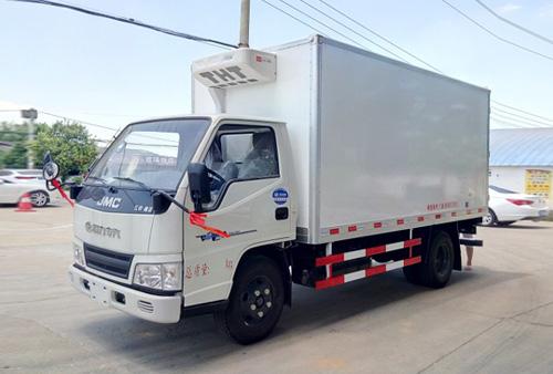 解放J6F(150马力)5.13米冷藏车
